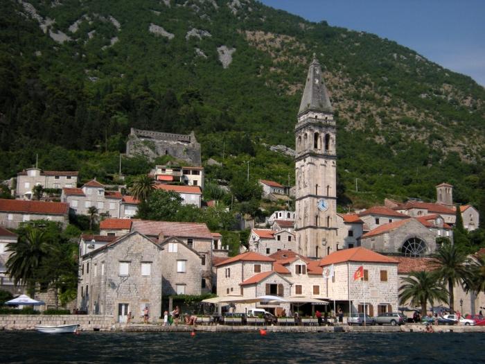 Église Saint-Nicolas à Perast au Monténégro
